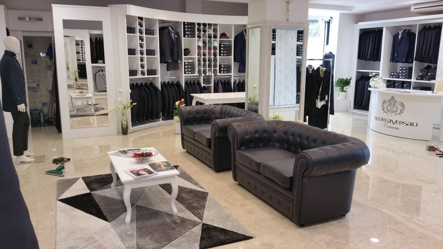 Design and preparation Clothing store